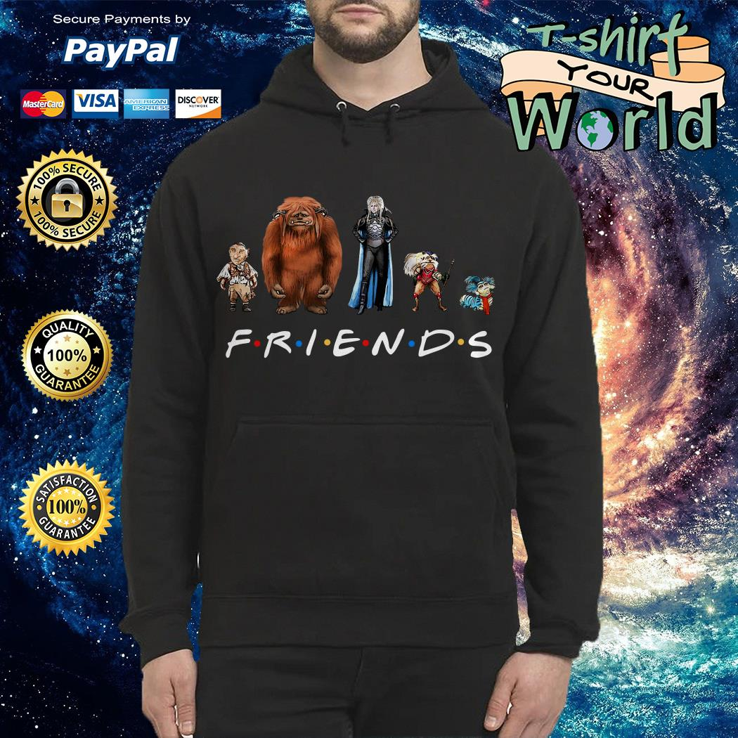 Labyrinth characters Friends Hoodie
