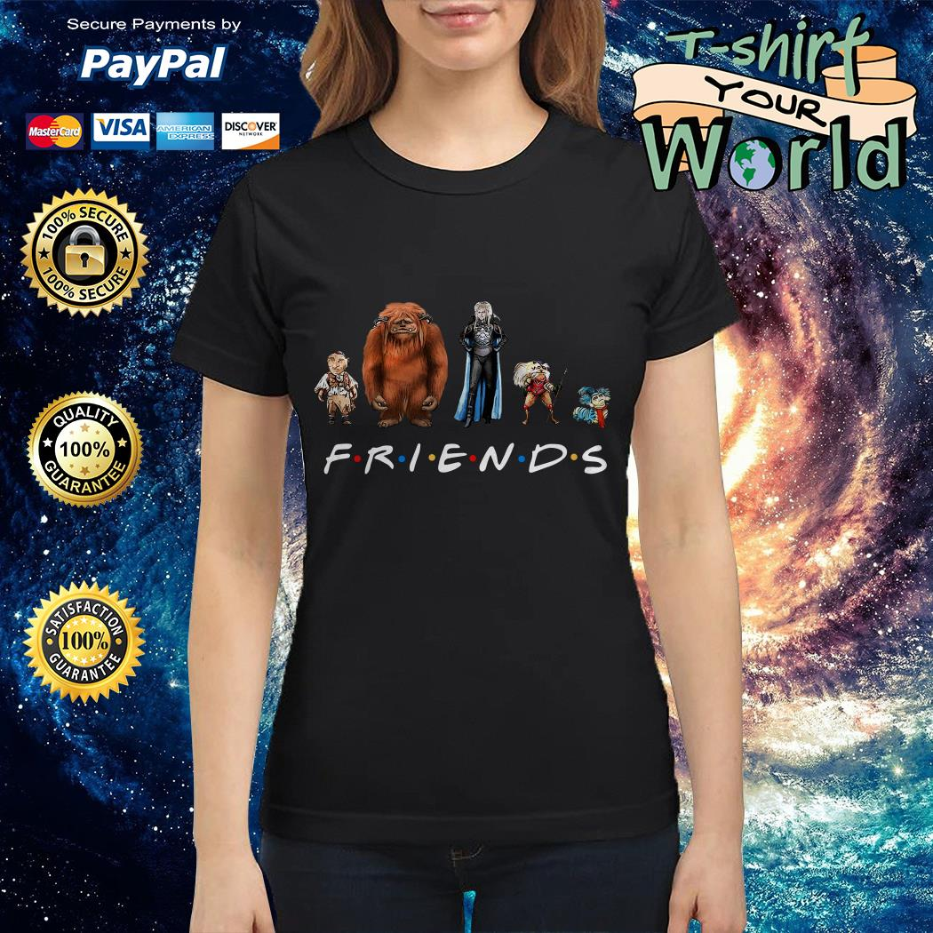 Labyrinth characters Friends Ladies tee