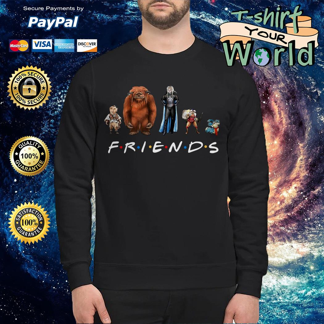 Labyrinth characters Friends Sweater