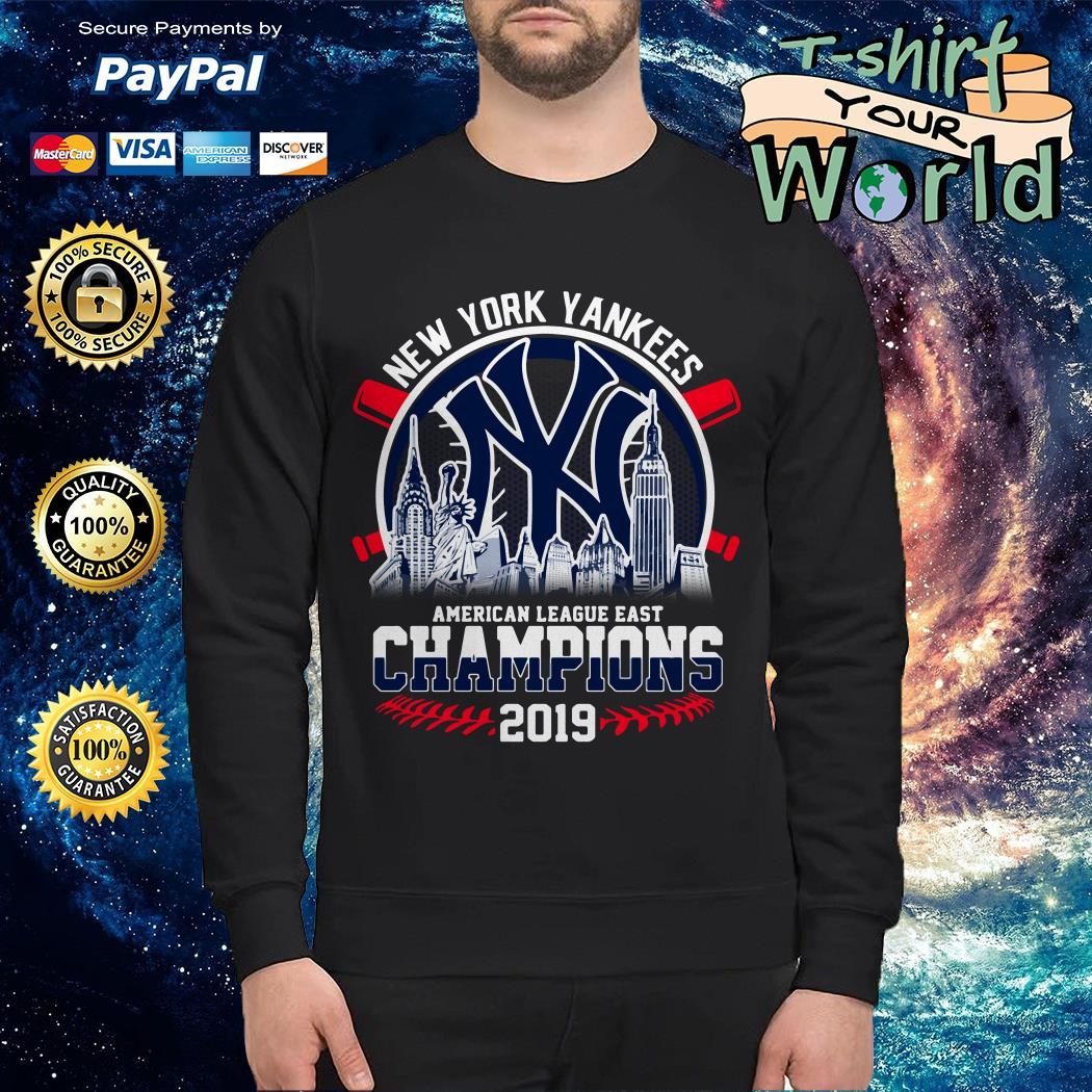 New York Yankees American League East Champions 2019 Sweater