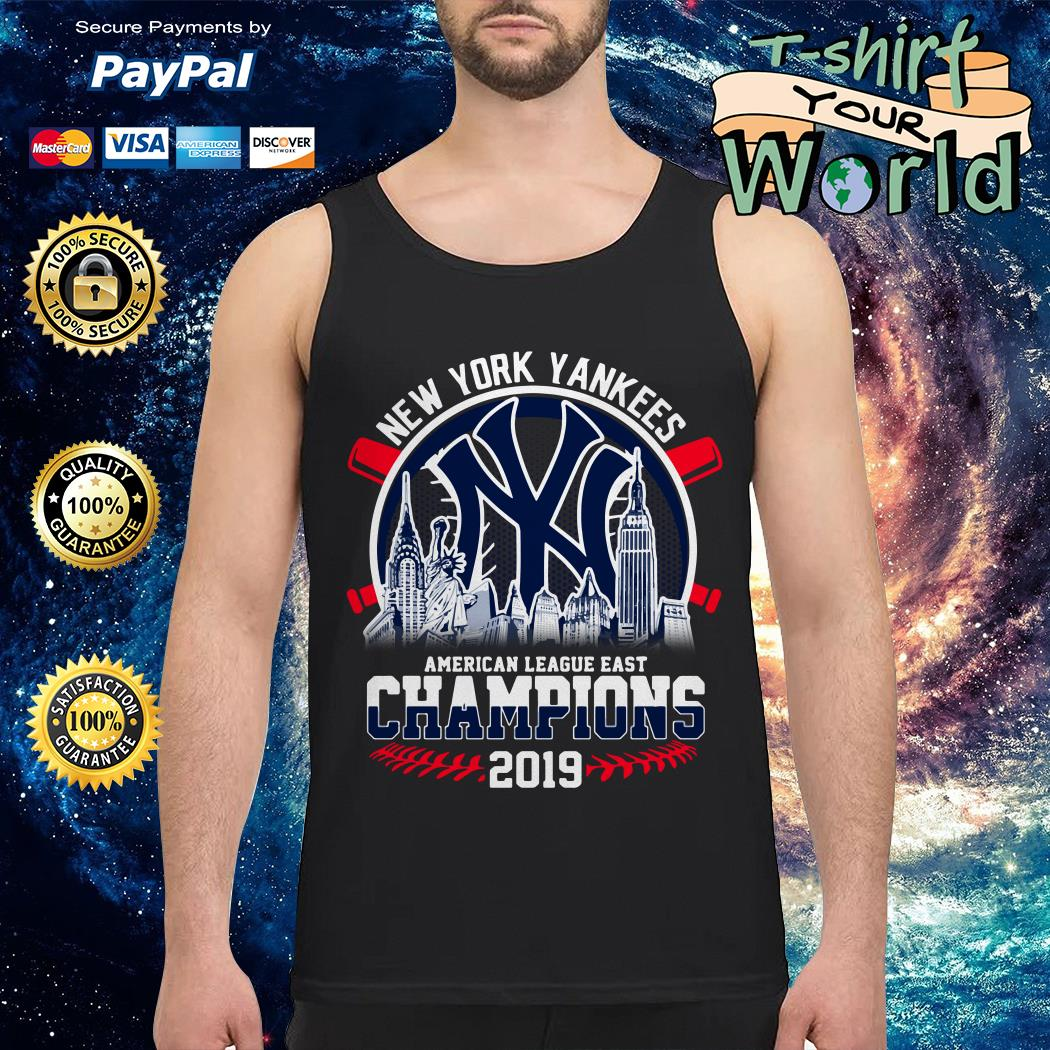 New York Yankees American League East Champions 2019 Tank top