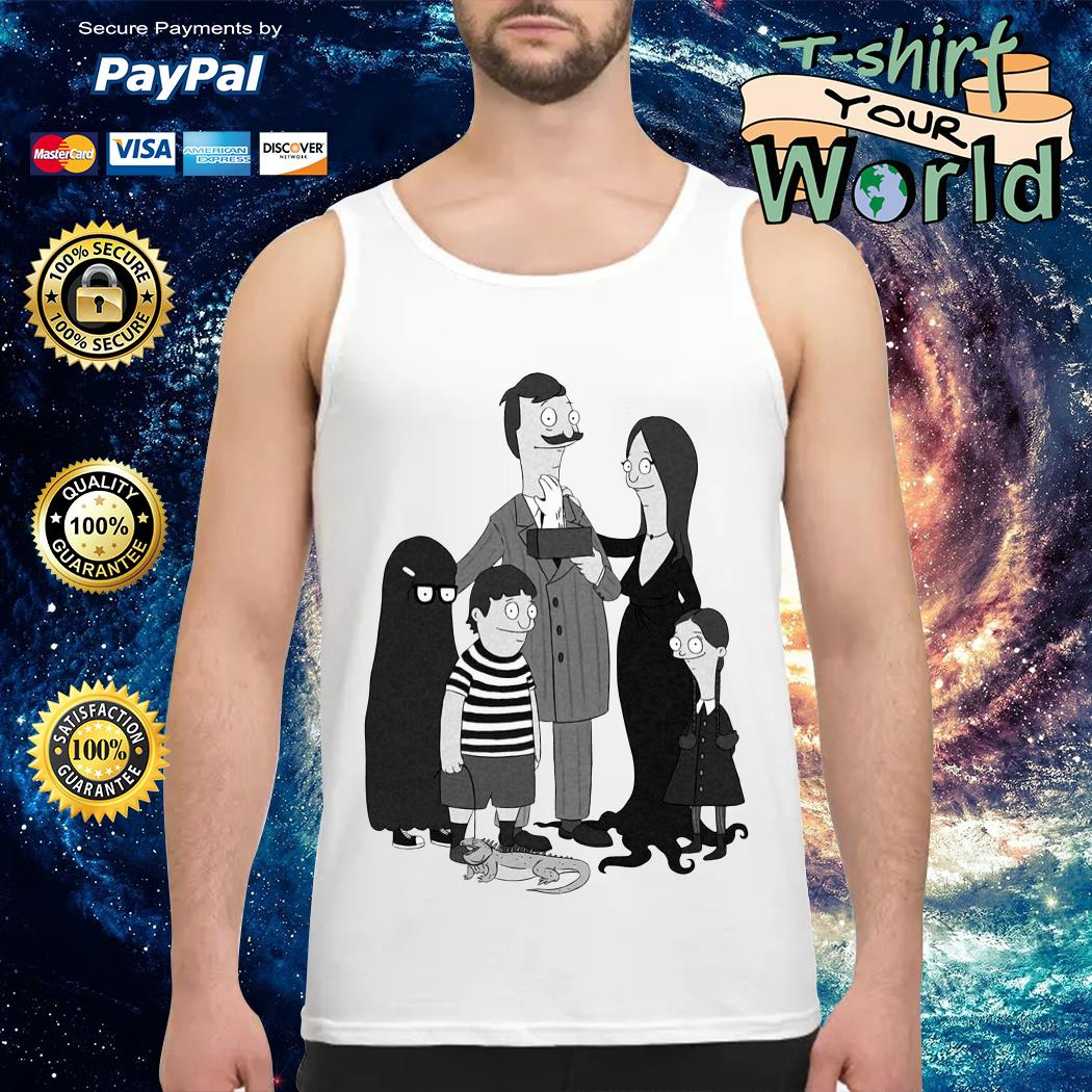 Official Bob's Burgers The Addams Family Tank top