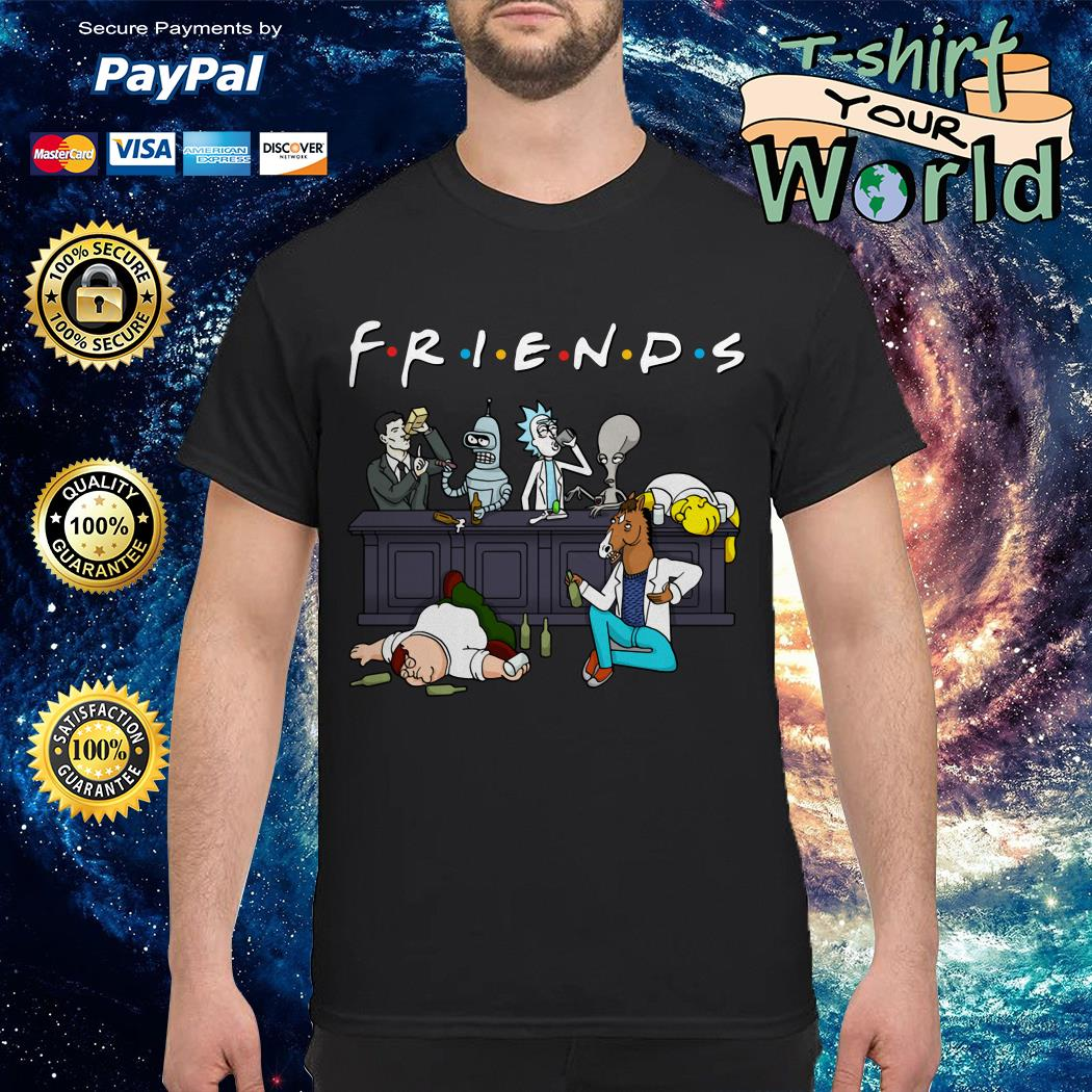 Official Nice Cartoon characters on Netflix Friends Tank top