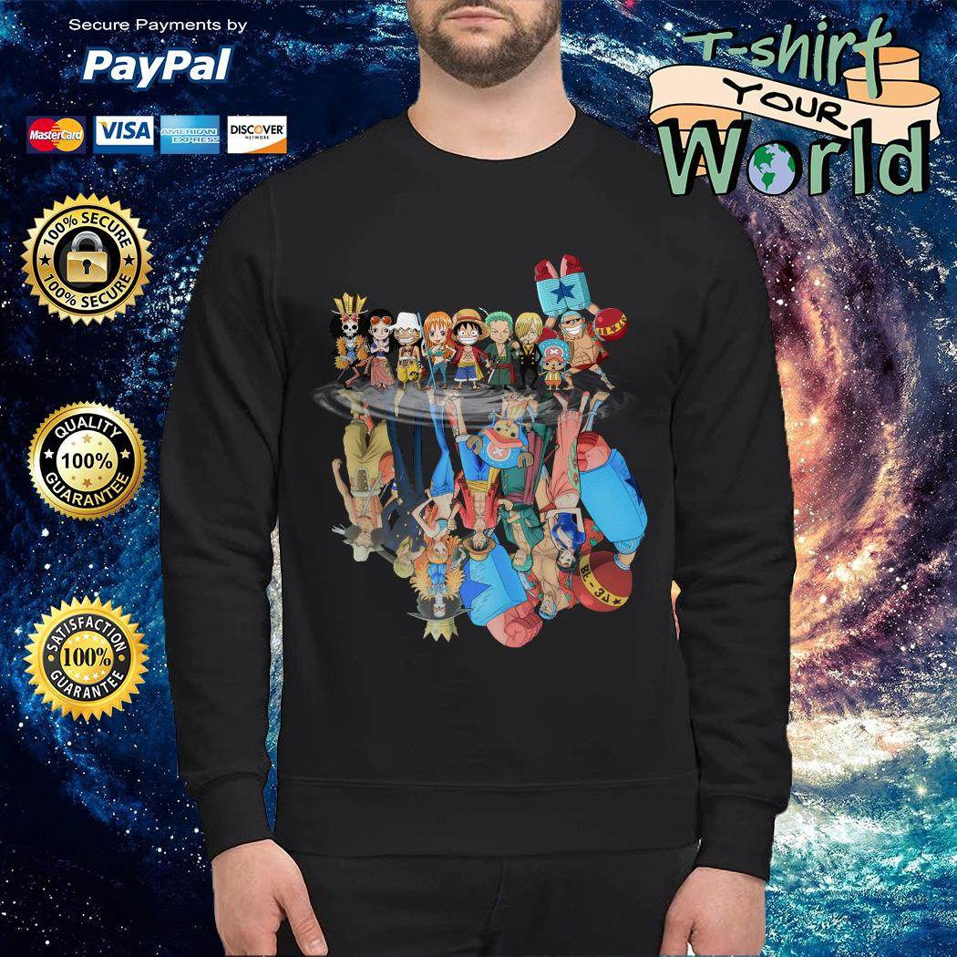 Official One Piece water reflection mirror Sweater