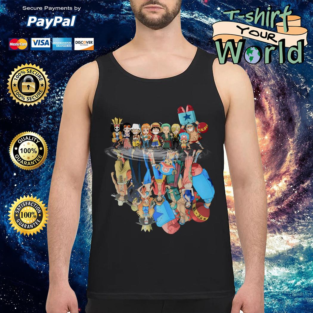 Official One Piece water reflection mirror Tank top