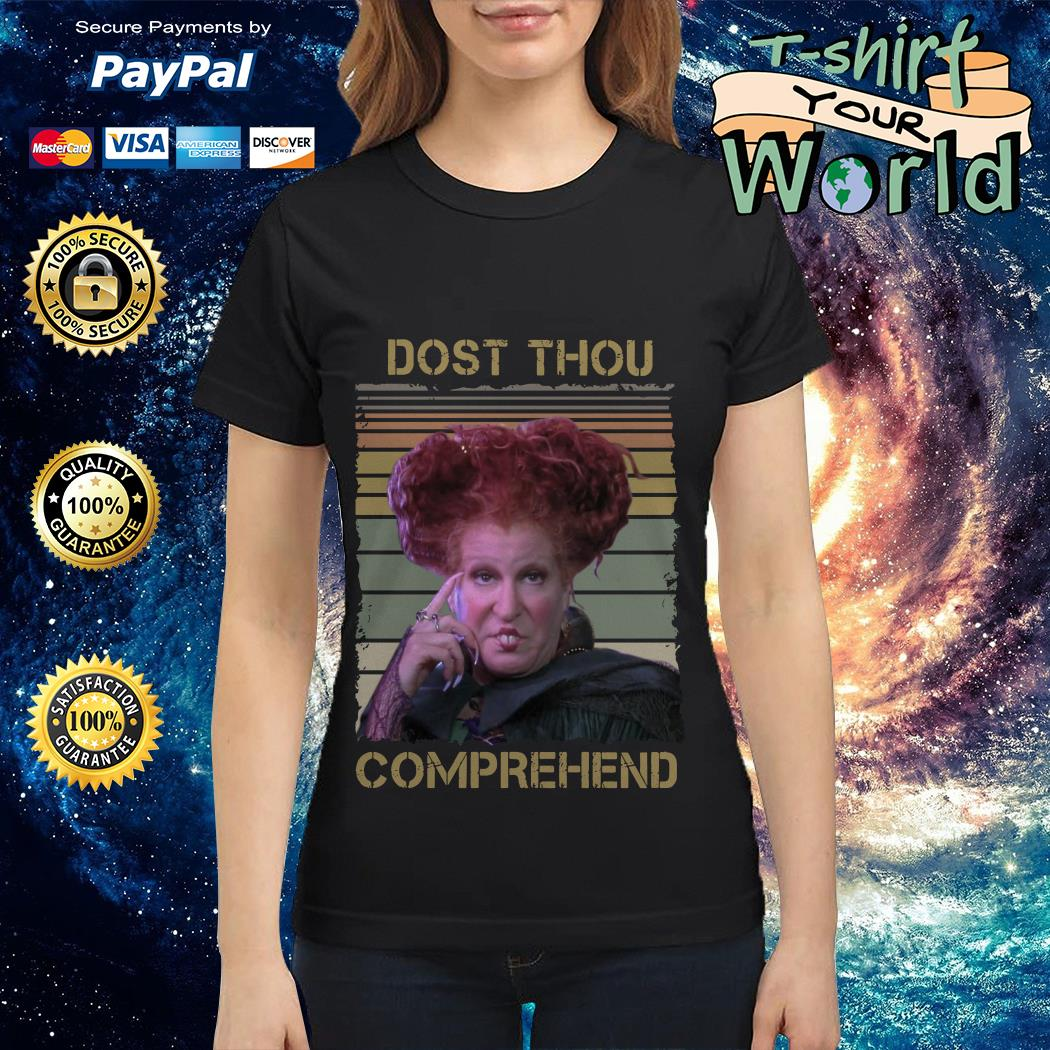 Official Winifred Sanderson dost thou comprehend vintage Ladies tee