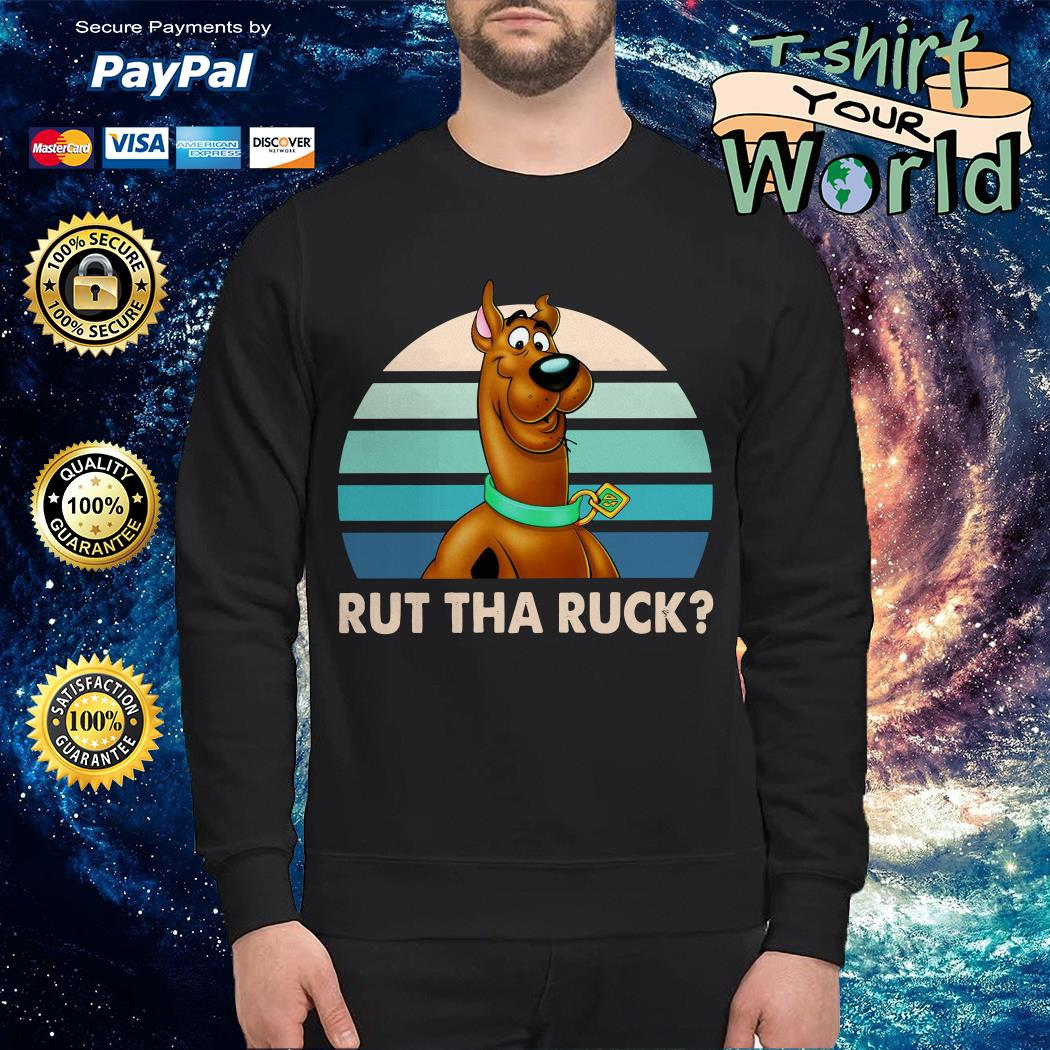 Scooby Doo rut tha ruck vintage version 2 Sweater