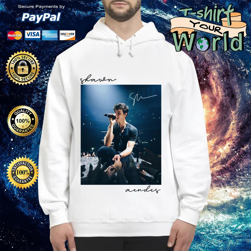 Shawn Mendes signature Hoodie