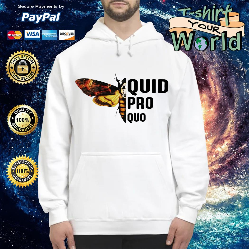 Silence lambs quid pro quo Hoodie