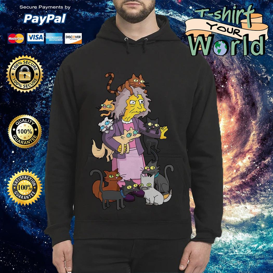 The Simpsons the crazy cat lady Hoodie