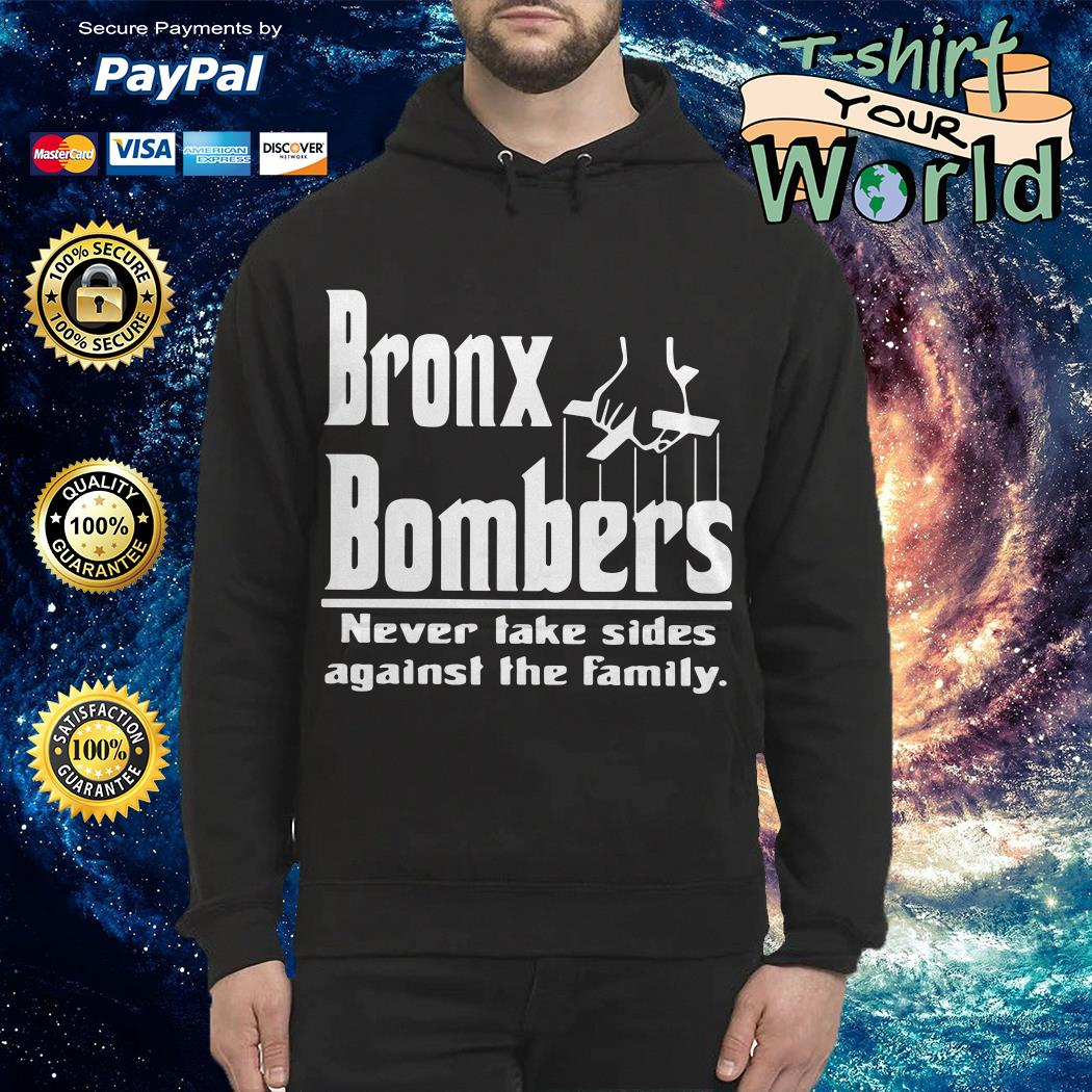 Bronx Bombers never take sides against the family shirt