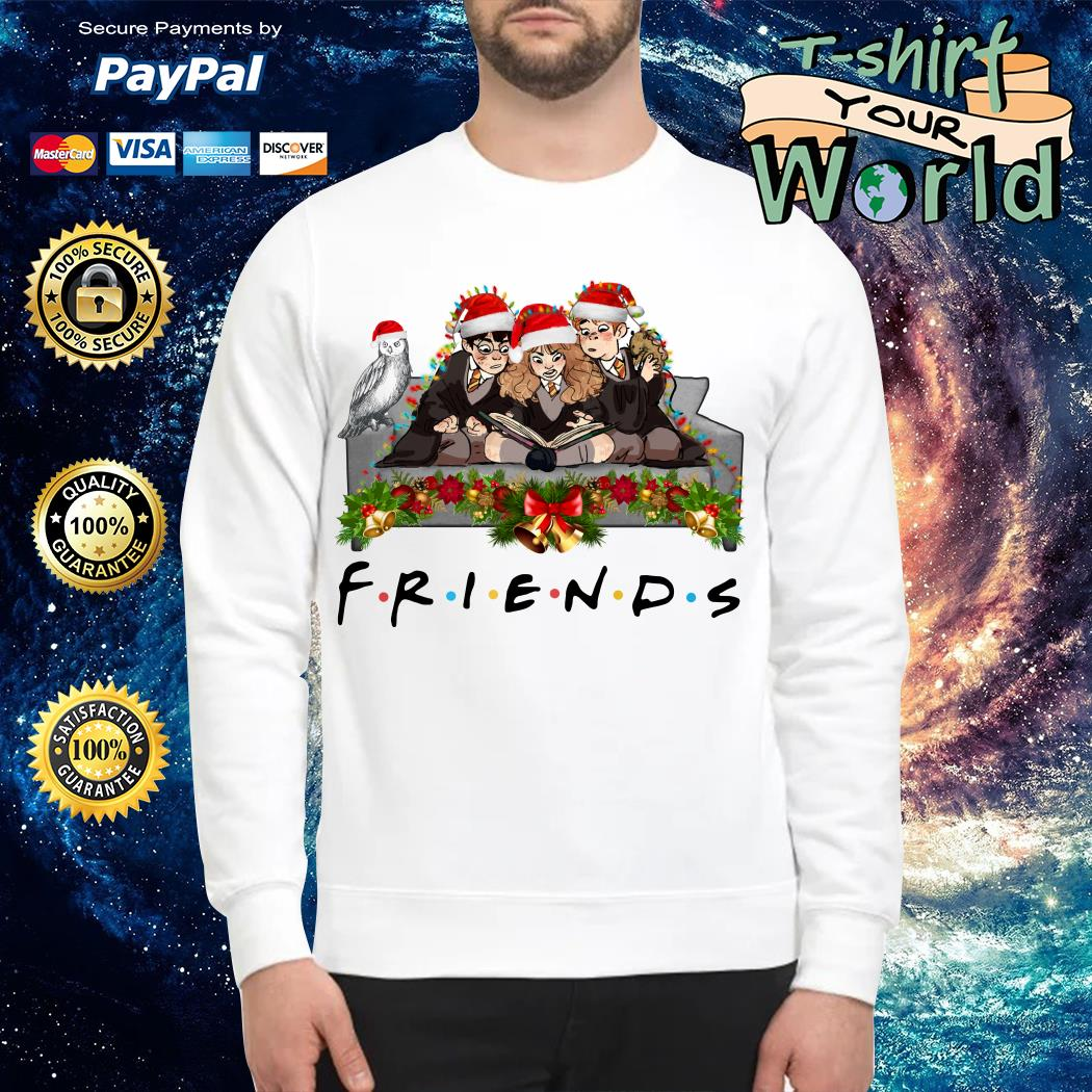 Harry Potter Hermione and Ron Weasley Christmas Friends TV show Sweater