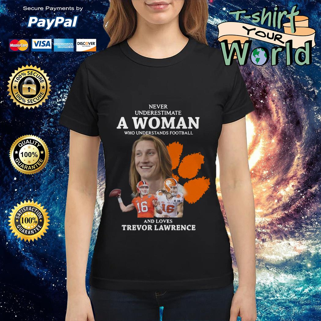 never-underestimate-a-woman-who-understands-football-and-loves-trevor-lawrence-ladies-tee