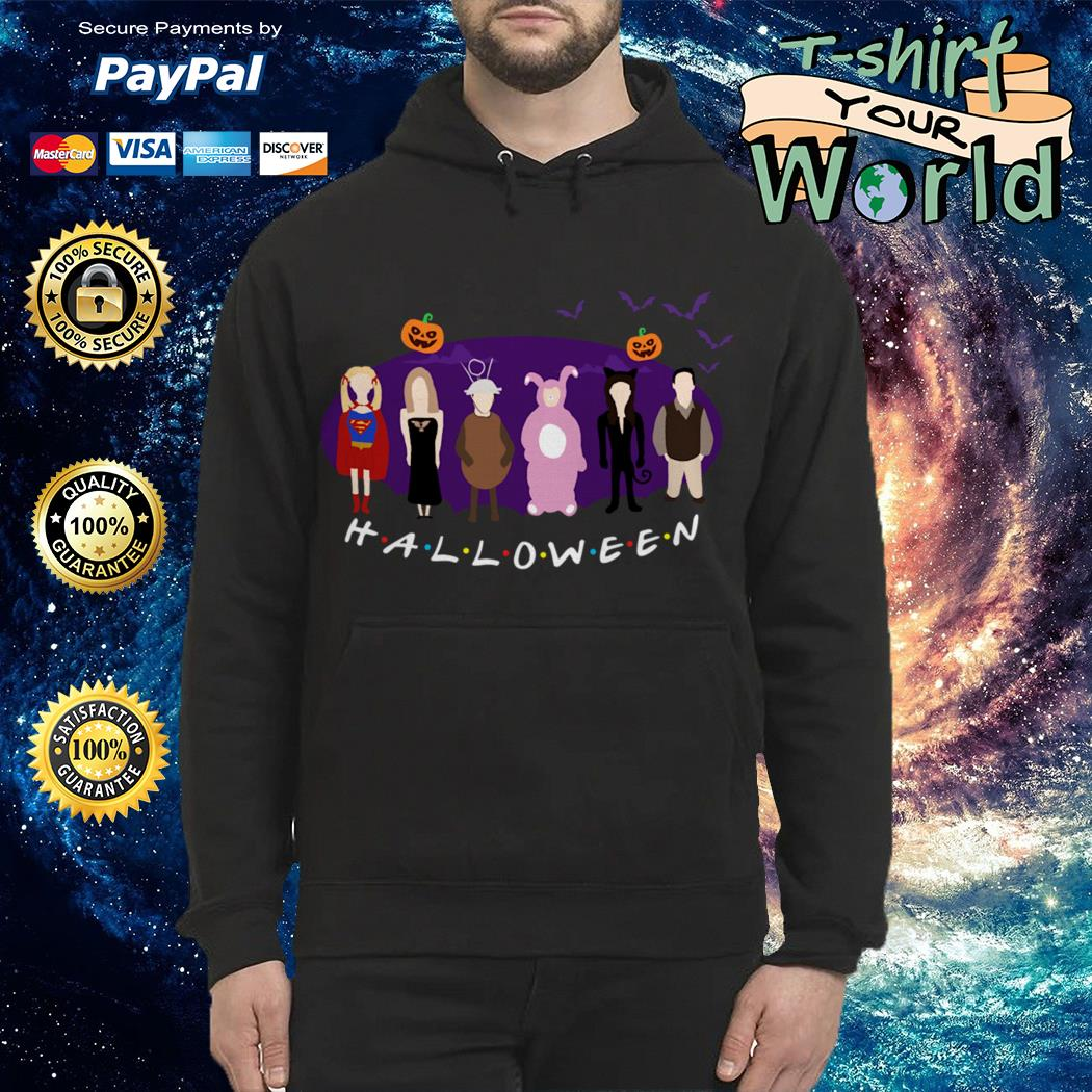 Official The One with the Halloween Party Friends TV show shirt