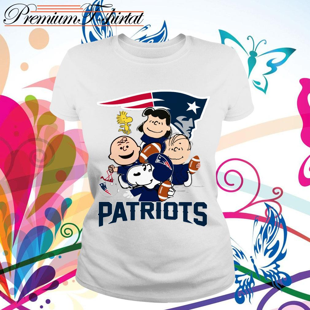 Charlie Brown Peanuts New England Patriots shirt