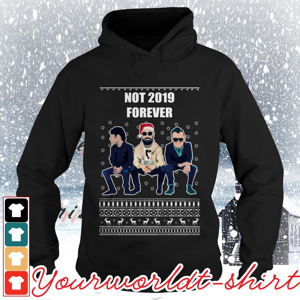 The Courteeners not 2019 forever ugly Christmas Hoodie