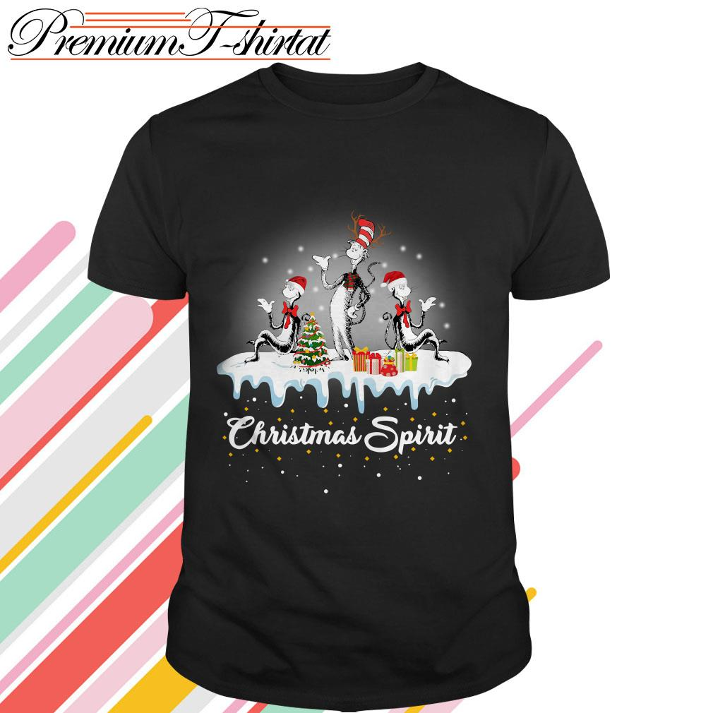 Dr. Seuss Christmas Spirit shirt