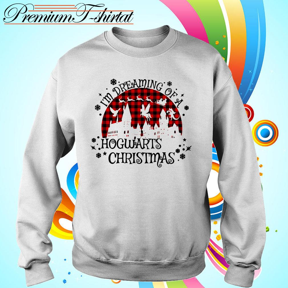 I'm dreaming of a Hogwarts Christmas shirt, sweater, hoodie and tank top