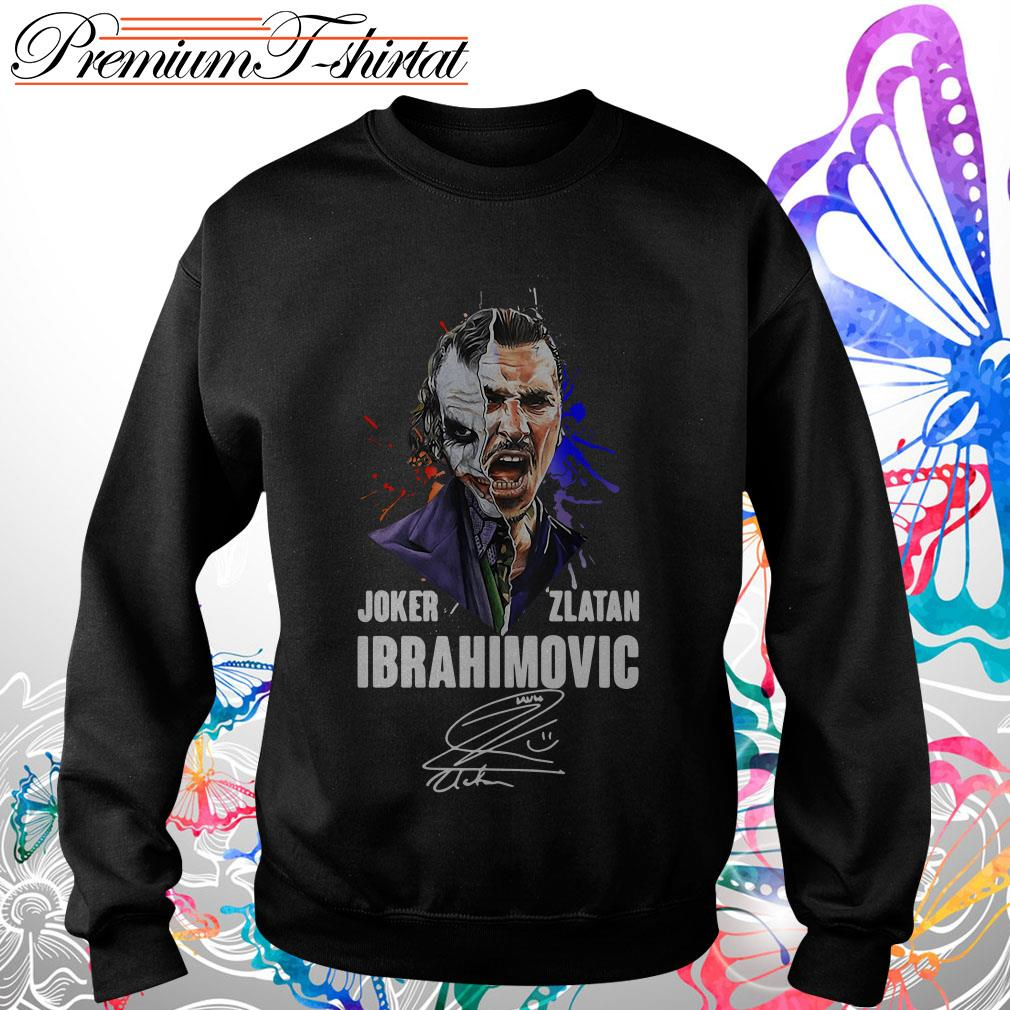 Joker Zlatan Ibrahimovic signature shirt