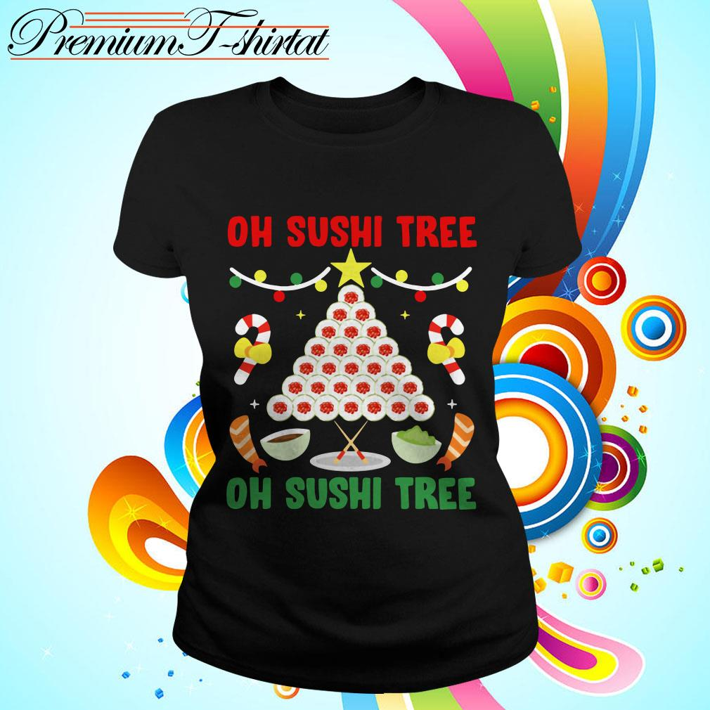 Oh Sushi tree Christmas shirt
