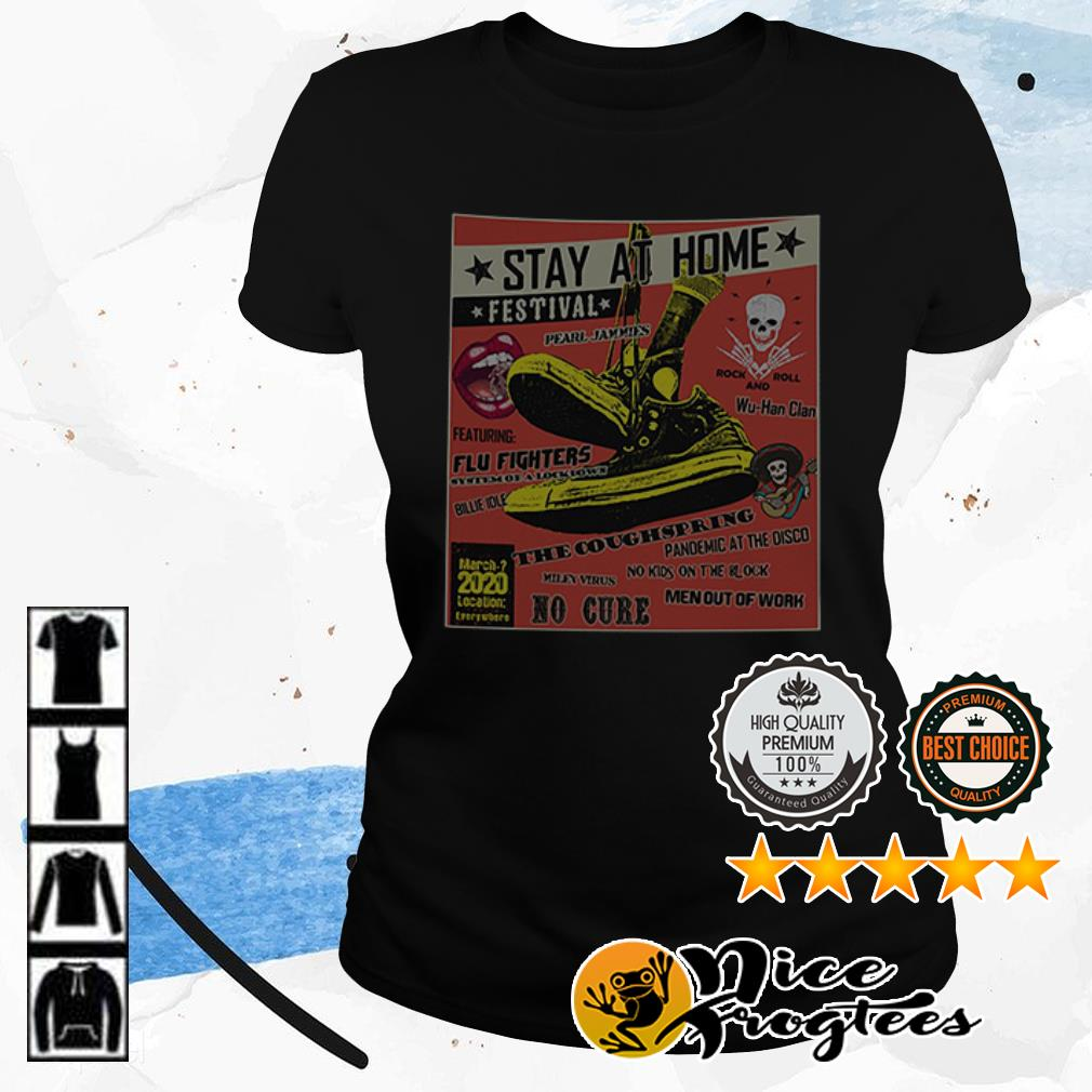 Stay at home festival the coughspring no cure shirt