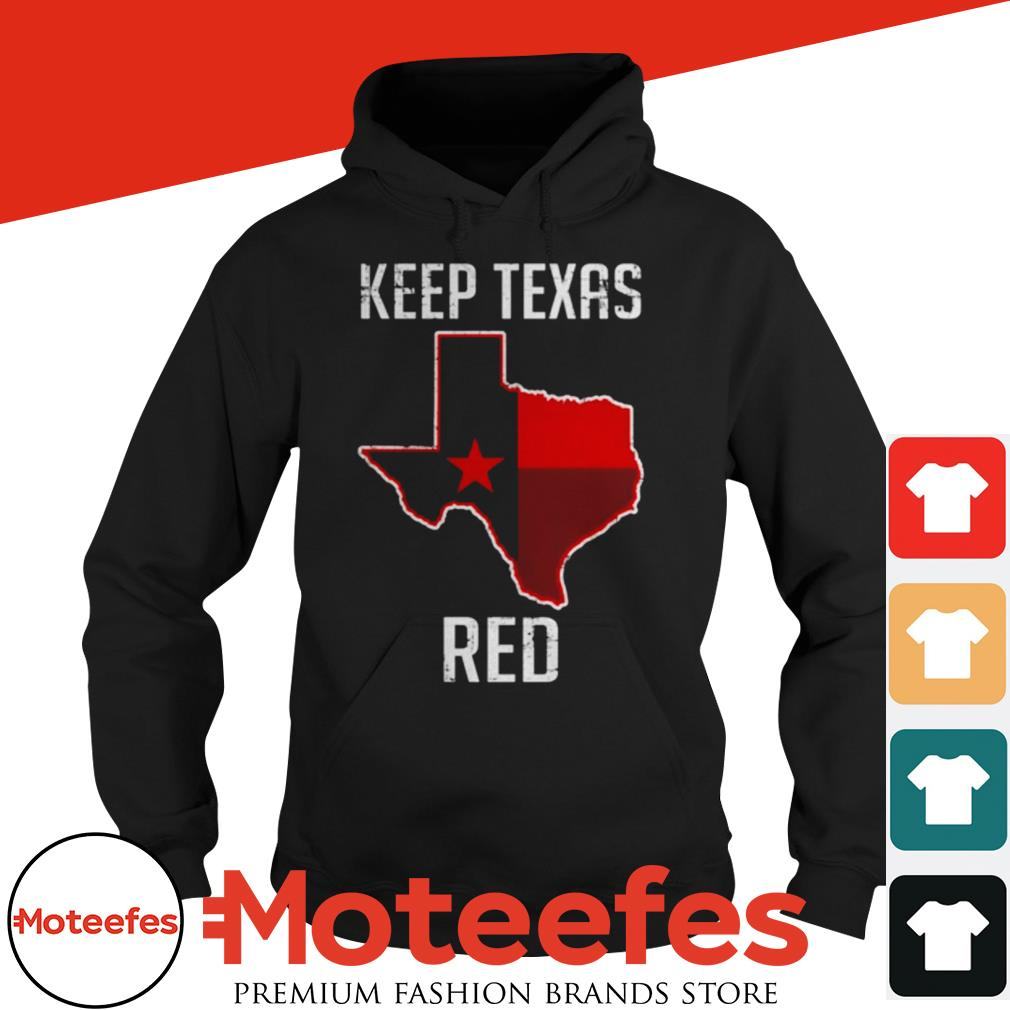 Texas Red State Flag shirt