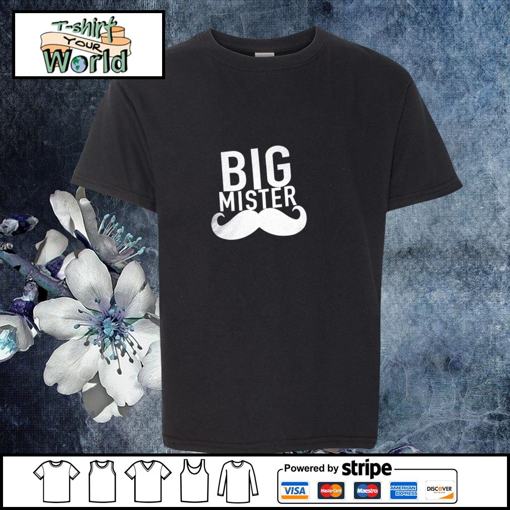 Big mister to a little sister s youth-tee