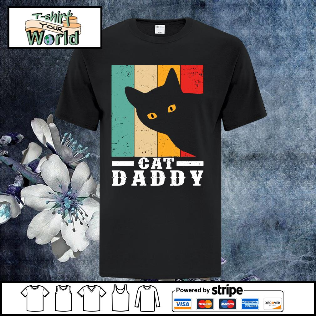 Black cat daddy vintage shirt