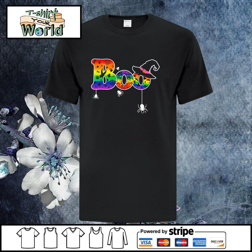 Boo cancer halloween LGBT shirt