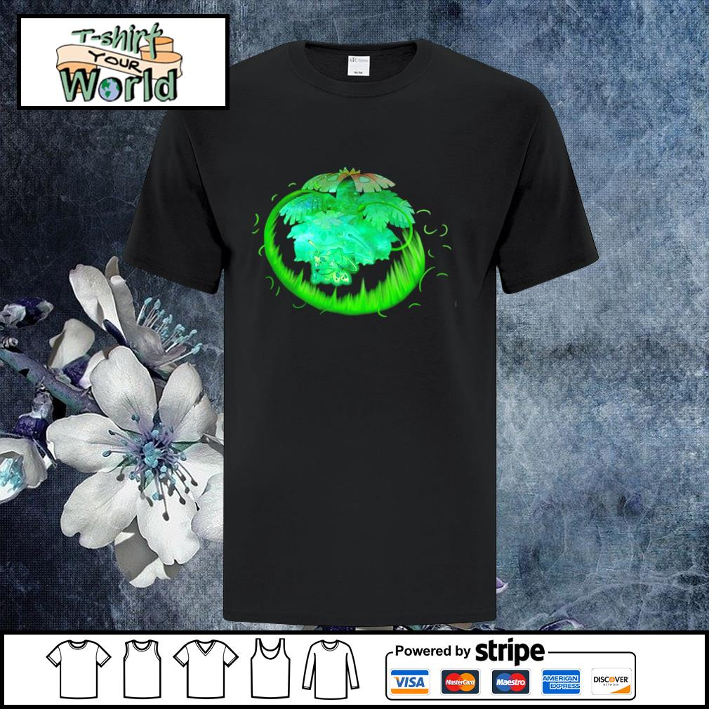 Bulbasaur grass type evolution Venusaur shirt