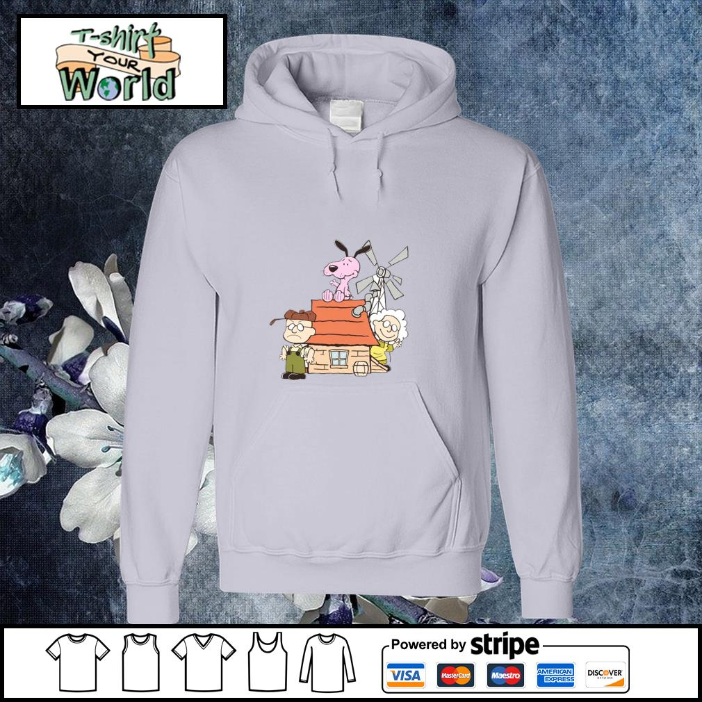 Courage the cowardly dog mashup the peanuts s hoodie