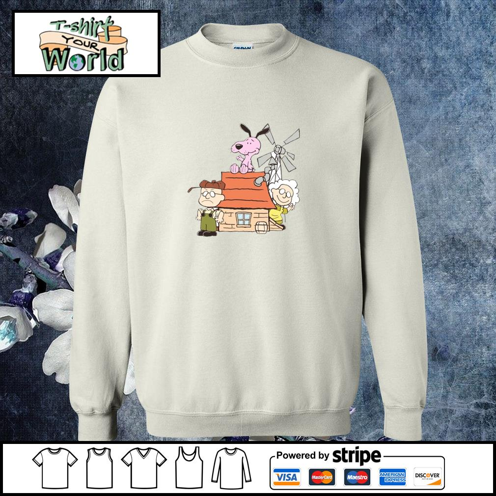 Courage the cowardly dog mashup the peanuts s sweater