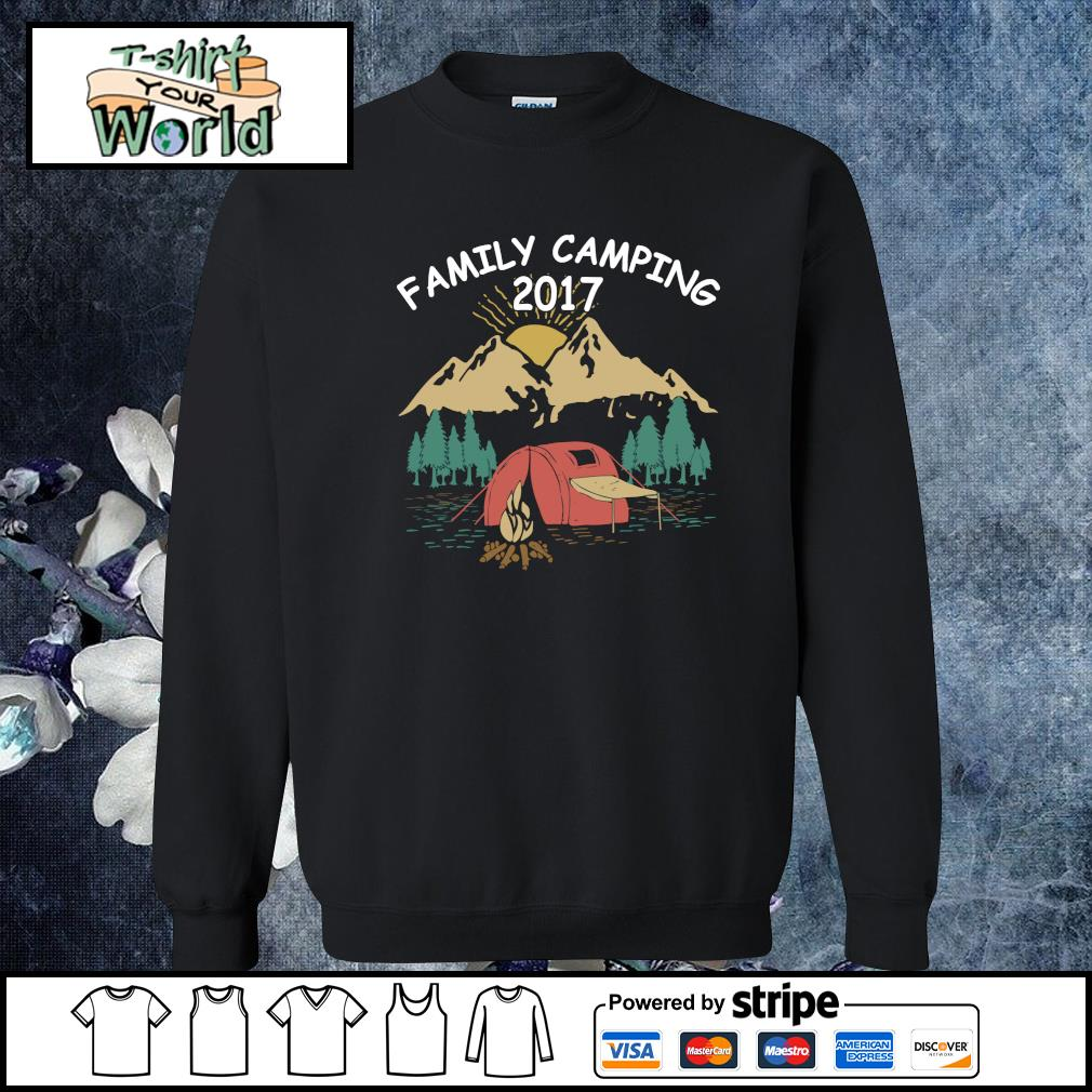Family camping 2017 s sweater