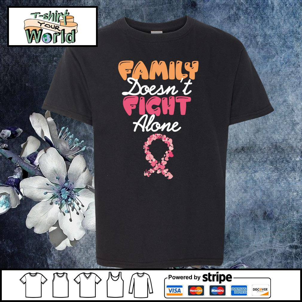 Family doesn't fight alone cancer s youth-tee