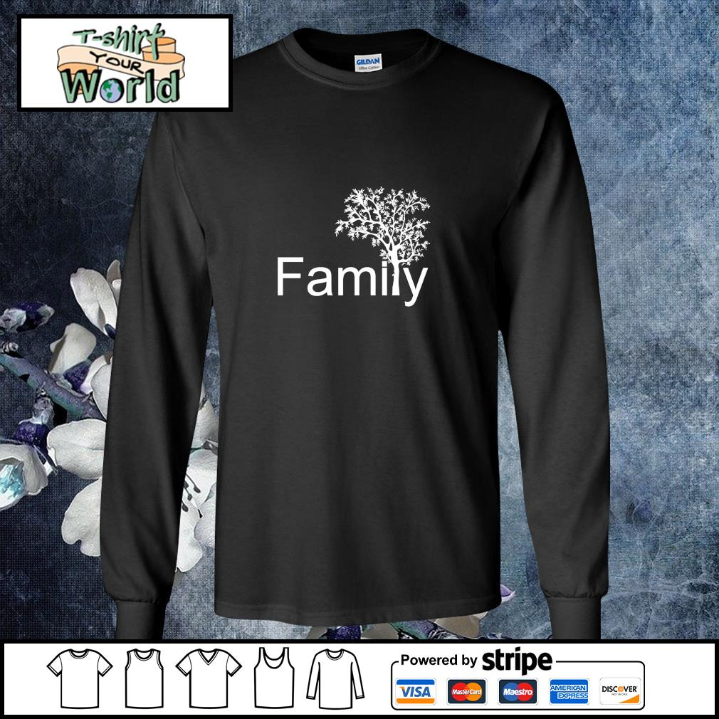 Family tree genealogy s longsleeve-tee