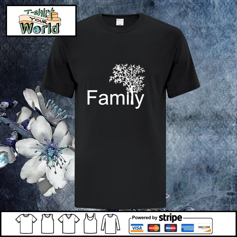 Family tree genealogy shirt