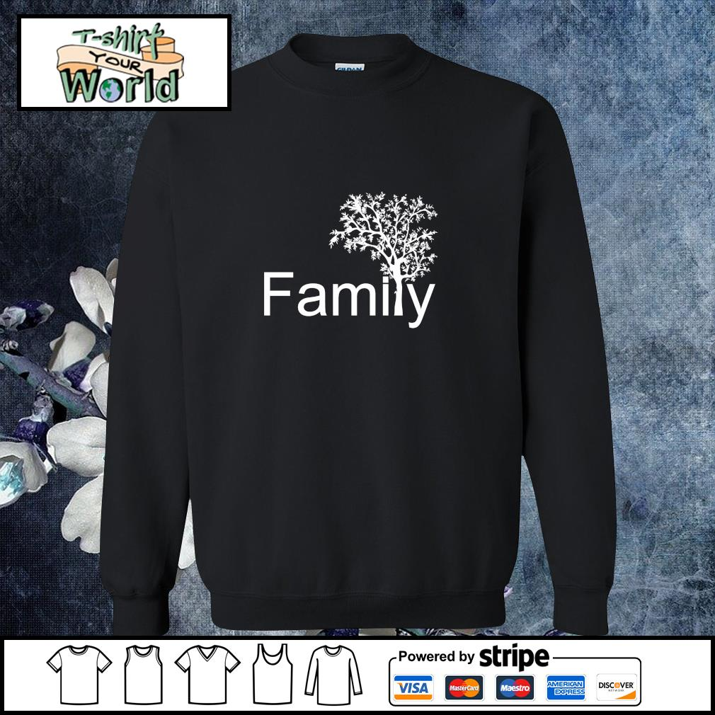 Family tree genealogy s sweater