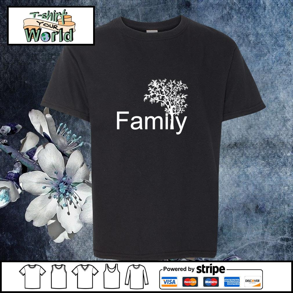 Family tree genealogy s youth-tee