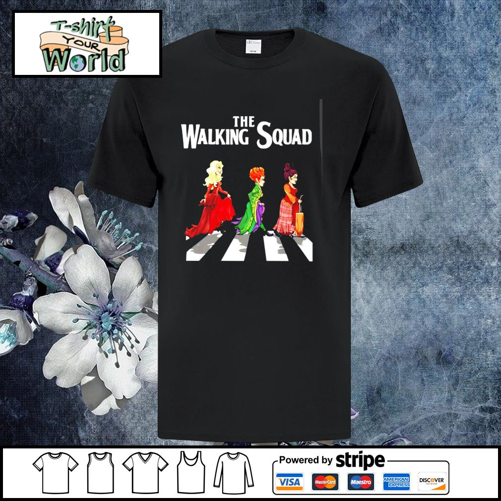 Hocus pocus the walking squad abbey road shirt