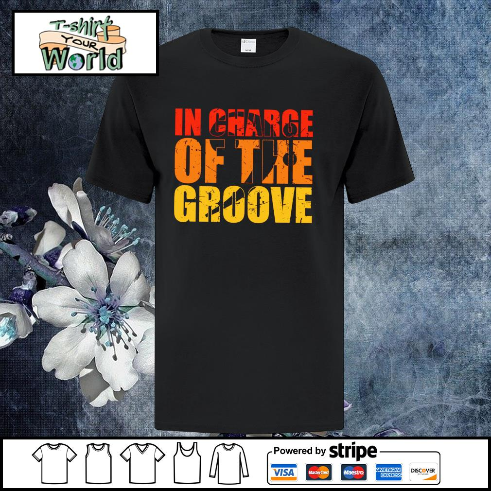 In charge of the groove semicolon shirt