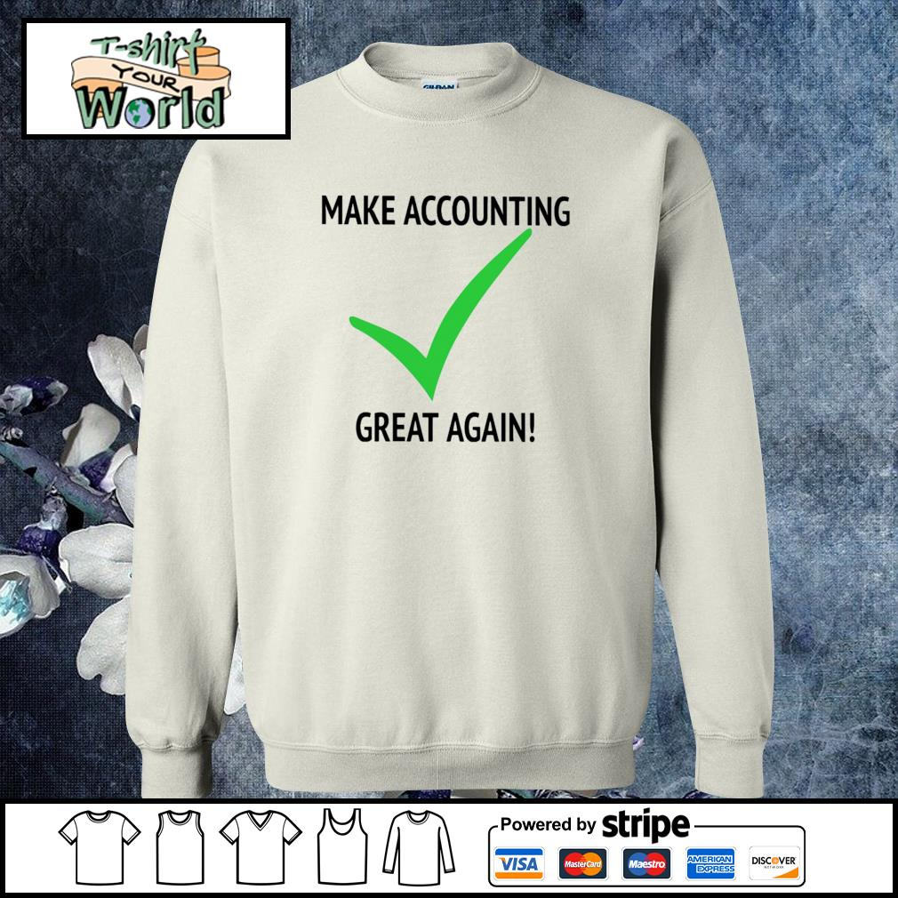 Make accounting great again s sweater