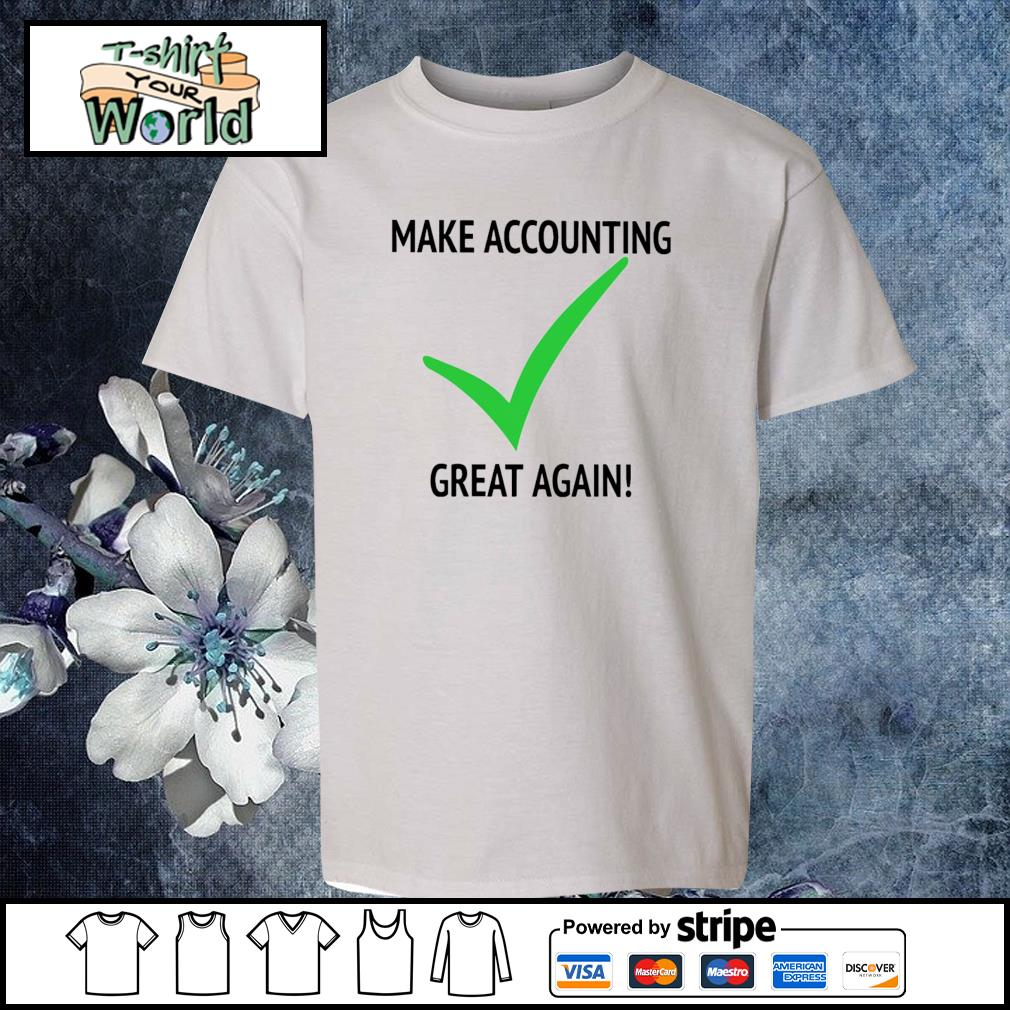 Make accounting great again s youth-tee