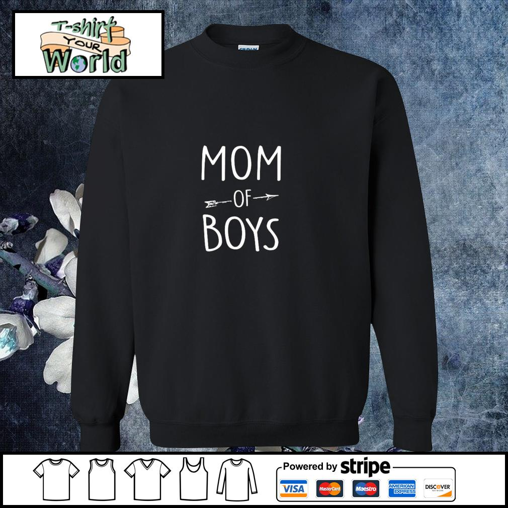 Mom of boys s sweater