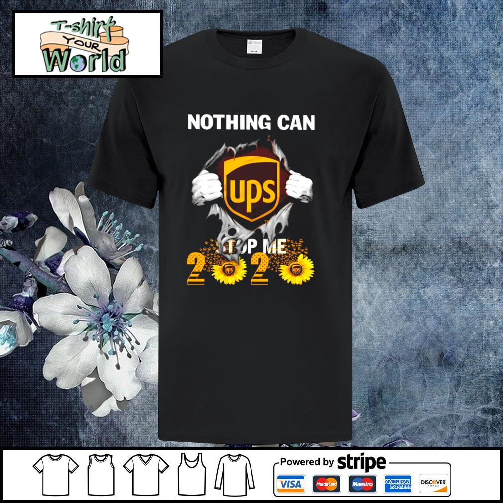 Nothing can stop me 2020 sunflower shirt