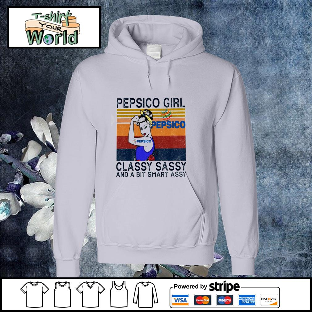 Pepsico girl classy sassy and a bit smart assy vintage s hoodie