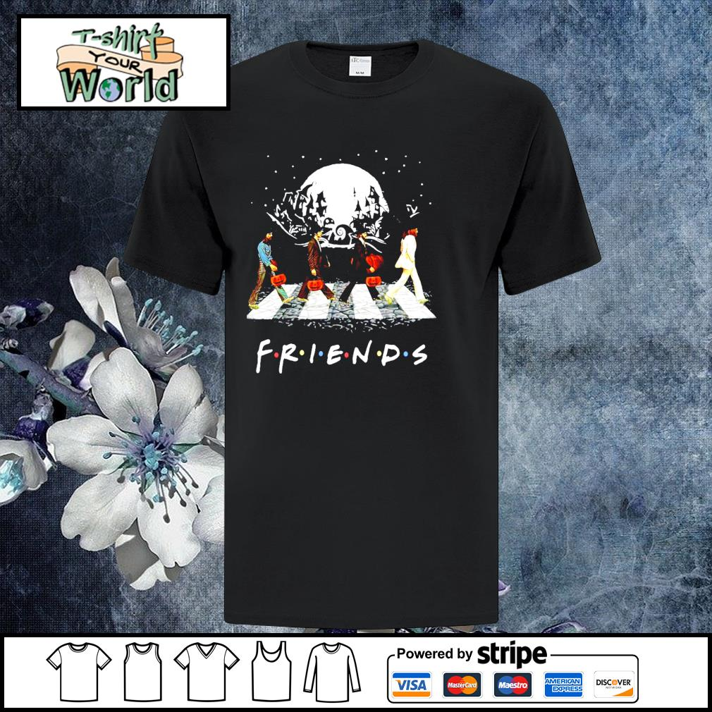 The beatles abbey road friend halloween shirt