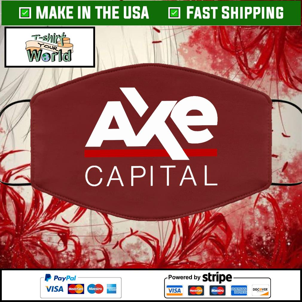 Ax Capital Cloth Face Mask Washable brown