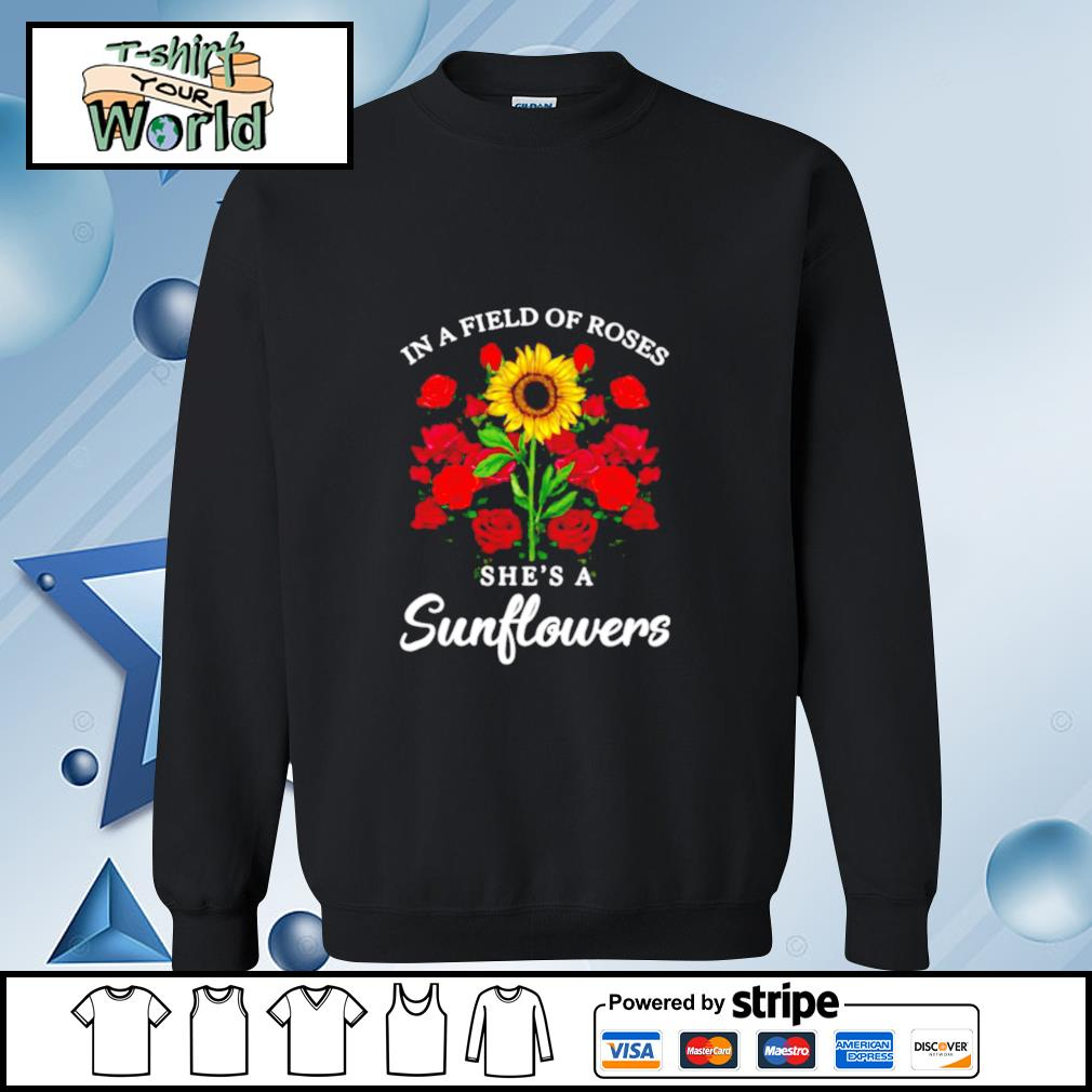 Jack Skellington In Field Of Roses She's A Sunflowers s sweater