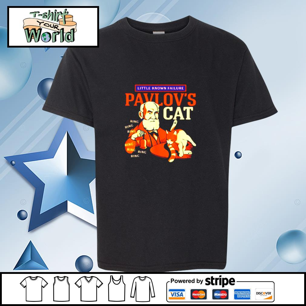 Little Known Failure Pavlov's Cat Ring Ring Ring s youth-tee