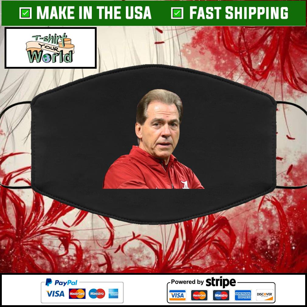 NICK SABAN Cloth Face Mask Washable